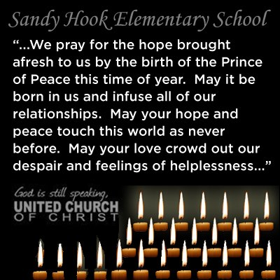 A Prayer from the United Church of Christ.